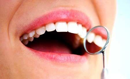 Gesundes Zahnfleisch ohne Parodontitis