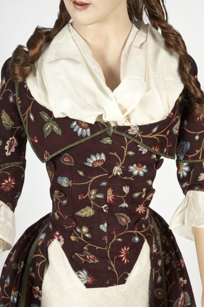 Dress, ca. 1785.