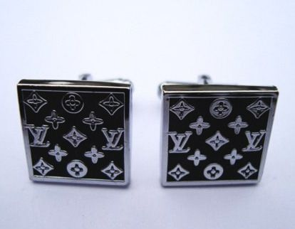 Louis Vuitton Cufflinks | Louis Vuitton Cufflinks Pure Metal Black