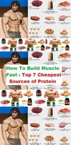 How To Build Muscle Fast, Top 7 Cheapest Sources of Protein  https://www.musclesaurus.com/bodybuilding/