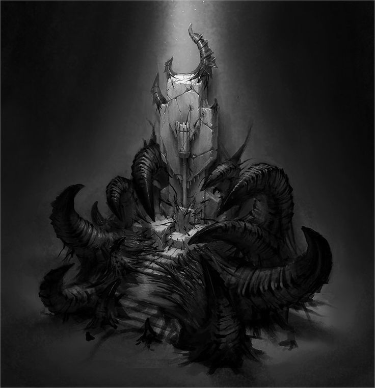throne corrupted room fantasy deviantart king drawings contest cthulhu artwork story crown