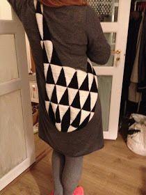 Karen Klarbæks Verden: DIY Hæklet taske af vimpler