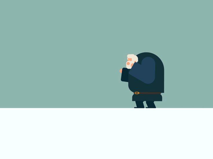 GIF animados más divertidos de la semana # 10 - La inspiración -Diseño Muzli