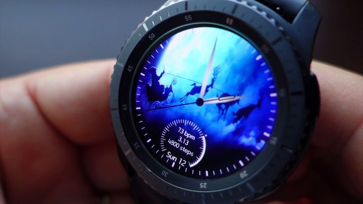 Best Christmas Watch faces for Gear S3, S2 and Sport - andrasi.ro - News, Gadgets, Android Apps & Games, Beautiful pictures and Fun.