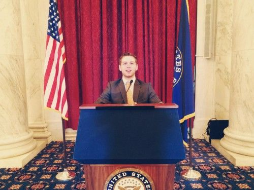 We interviewed management student, Conor Cahalan, about his internship with Congressman Ander Crenshaw.
