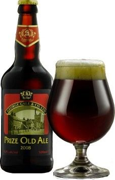 Cerveja Gales Prize Old Ale, estilo Old Ale, produzida por Fuller's, Inglaterra. 9% ABV de álcool.