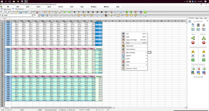 SSuite Axcel Professional  - Free advanced and powerful spreadsheet program for Windows.