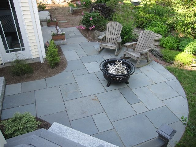 Best Stone Patio Designs Ideas On Pinterest Patio Flagstone - Stone patio design