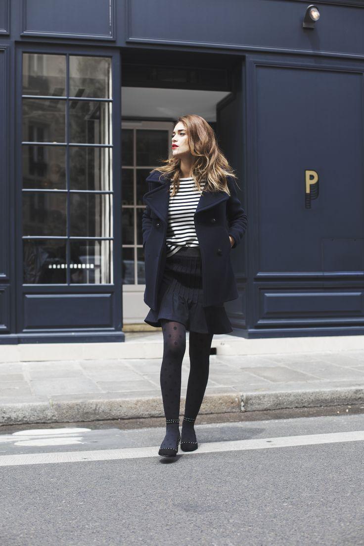jolis chiffons gambettes box diable habille paris chic style parisien hiver chics posie mode femme