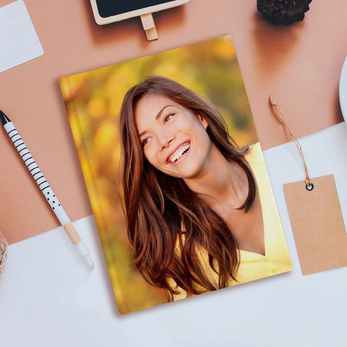 Choose from your favourite photo and upload it onto the cover of this personalised diary. Shop now!