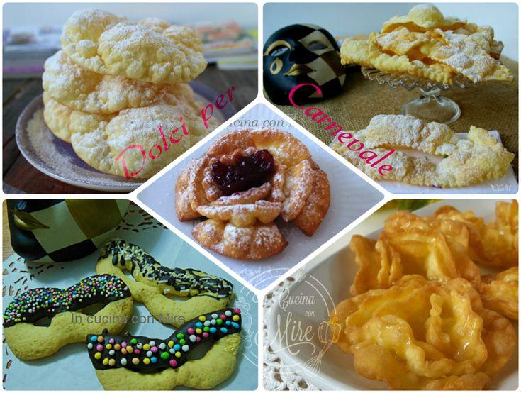 Dolci per Carnevale Chiacchiere, maschere, rose fritte, tagliatelle dolci, crostata tutto per carnevale, vogliamo far felici grandi e piccoli!