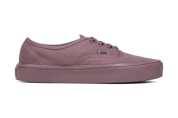 Vans Women's Mono Authentic Lite - Mauve/Mauve