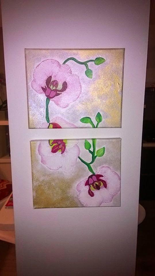 """M'arte di Samantha: """"Orchidea selvaggia ma non troppo"""""""