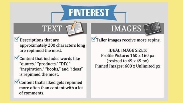 Mini guía Pinterest #Infografía