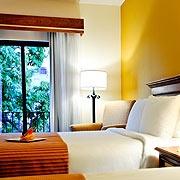 Por 97 puntos, estadía en el Hotel Courtyard by Marriott Santo Domingo para los socios de República Dominicana (Puntos validos por habitación por noche con desayuno para 2)