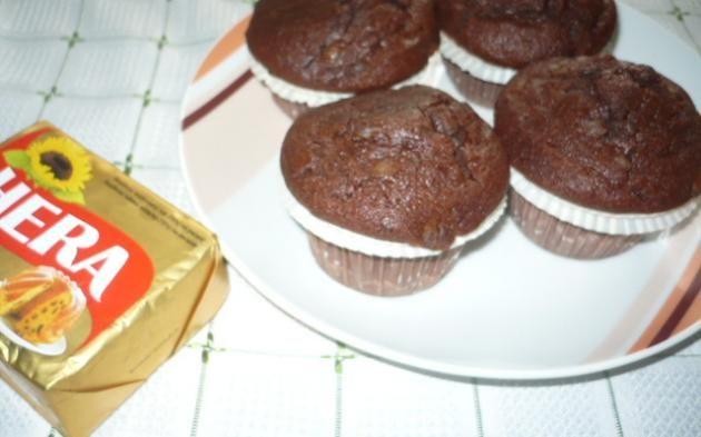 Čokoládové muffiny » Pečení je radost