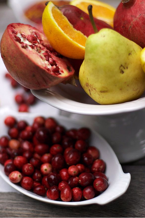 Cranberry Sauce with Pear & Pomegranate | #christmas #xmas #holiday # ...