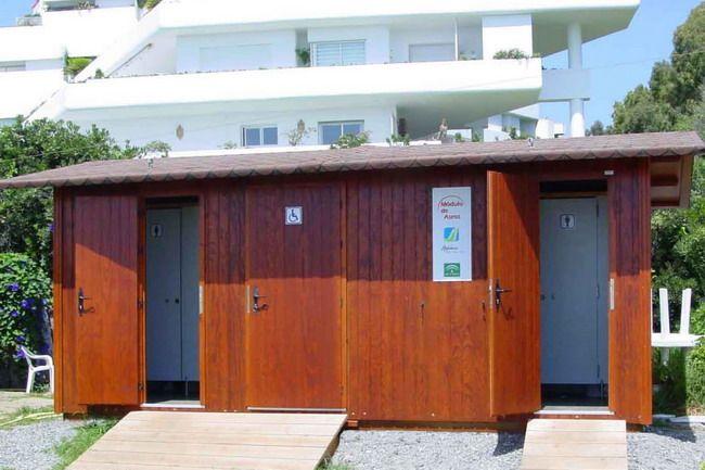 #aseo #baño #playa #madera