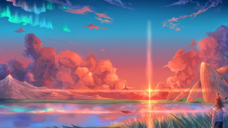 Anime Landscape Background