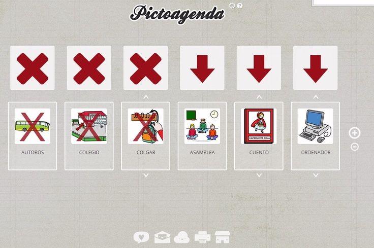 Pictoagenda. a través de esta aplicación on line se puedan establecer las…
