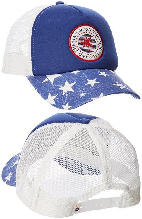 47bceee3de2 Roxy Women s Truckin 3 4th of July Trucker Hat