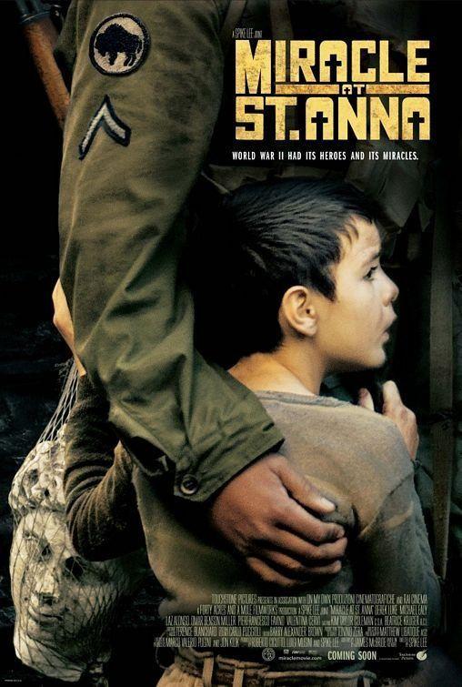 Miracle at St. Anna / HU DVD 11290 / http://catalog.wrlc.org/cgi-bin/Pwebrecon.cgi?BBID=13488034