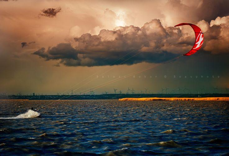 Beautiful energy of wind
