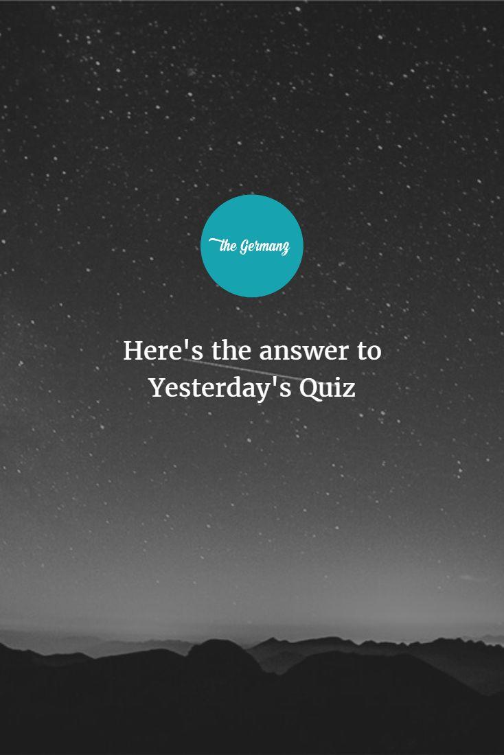 Here's the answer to yesterday's quiz:  . . . . . Er sagte, er hat ___ Haus!    a) keinen b) keine c) kein    #LearnGerman #German #Deutsch   c) is correct. Er sagte, er hat KEIN Haus. He said he didn't have a house.    How would you say 'He said he didn't have a car'?    (Most efficient preposition - The Germanz)