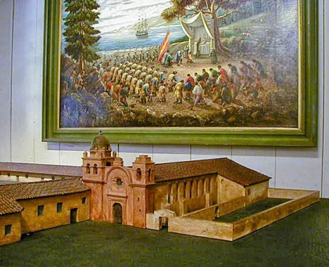 Quick Guide to Carmel Mission: for Visitors and Students: Mission Carmel Model Photo
