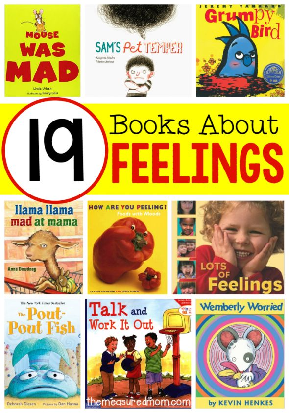 These books about feelings are great for an all about me theme!