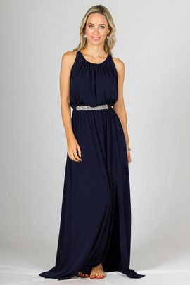 Capri Maxi Dress - Navy