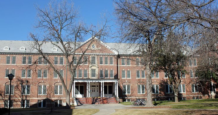 Virginia Hall, 3325 Dyer Street, Dallas, Texas, on the Southern Methodist University Campus. The building is listed on the National Register of Historic Places as of September, 1980.