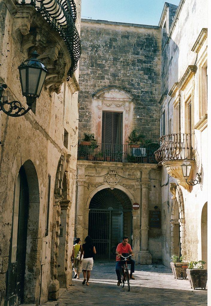 Nel centro storico di Corigliano d'Otranto
