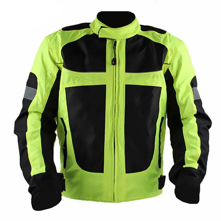 Motorcycle Motorbike Motocross Racing Jacket Reflective Safety Protective Gear…