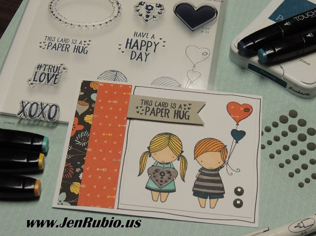 """CTMH with Jen Rubio: Spread the Love Operation Smile Blog Hop! (featuring the """"True Love"""" stamp set - D1711)"""