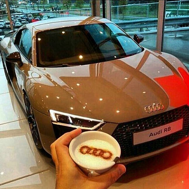 @Regrann from @217mph -  Cool coffee and car > Rate it < Follow: @carSupercars . #217mph . Photo by: @luxuriesoutlook #217mph #audi #r8 #car #cars #supercar #supercars #auto #blacklist #bike #bikes #automotive #motorsport #motorsports #carporn #carlifestyle #217mph #carinstagram #amazing_cars #авто #dreamcar #avto_msk #benzliving #itswhitenoise #машина #carswithoutlimits #kingzwhips