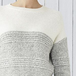 Chunky Loop Stitch Jumper