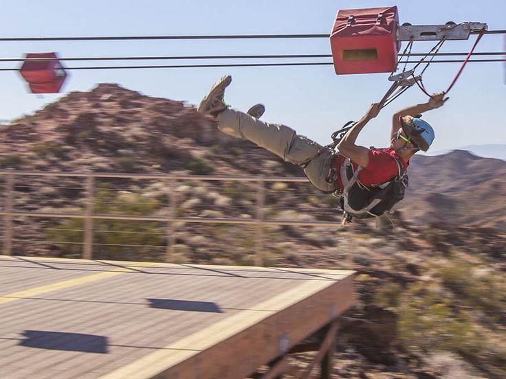 zipline over grand canyon