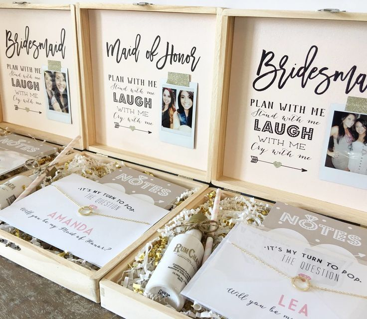 The very first card ever made by P&P was a Bridesmaid proposal card so I think its only fitting that our very FIRST blog is our take on the Bridesmaid box!