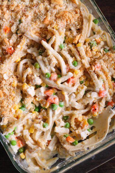 Creamy Chicken Noodle Casserole | The Recipe Critic | Bloglovin'