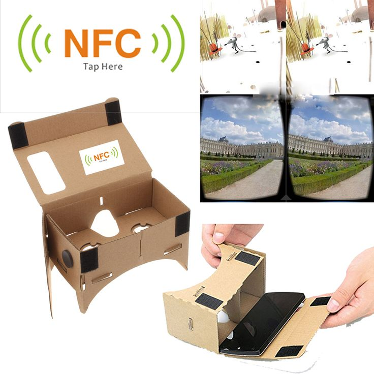 VR Cardboard WITH NFC - Virtual reality Glasses   Price: $5.42 & FREE Shipping    #vr #vrheadset #bestdeals #virtualreality #sale #gift #vrheadsets #360vr #360videos #porn  #immersive #ar #augmentedreality #arheadset #psvr #oculus #gear vr #htcviive #android #iphone   #flashsale