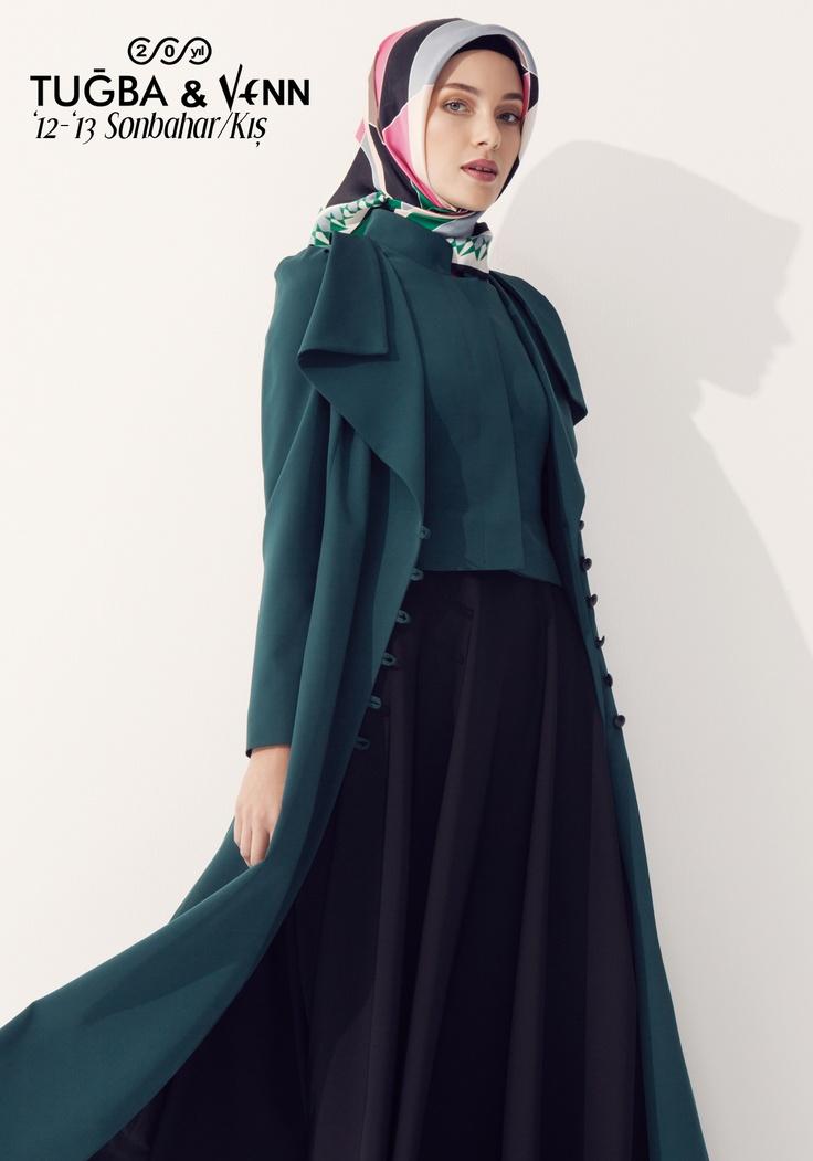Tuğba & Venn '12-'13 Sonbahar/Kış. Hijab. Overcoat