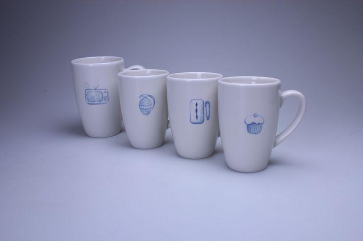 Blueprint test #BarboraŠimková #blueprint #handmade #keramika #porcelán #ceramic #porcelain #design #czech  Barbora Šimková http://barborasimkova.tumblr.com simkova24@gmail.com https://cz.pinterest.com/simkova24/barbora-šimková/