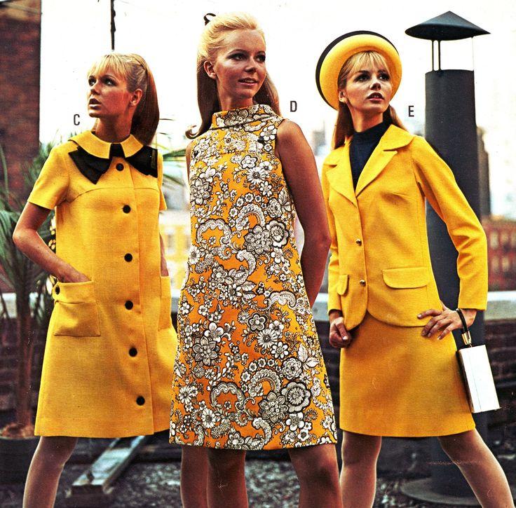 Swinging Sixties Fashion and Beauty.