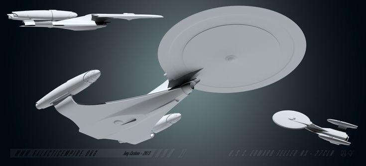 USS Edward Teller Rebuild by LordSarvain