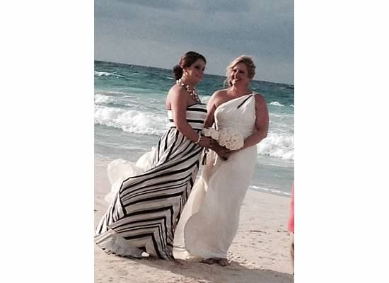 Beach Wedding Dresses Older Brides : Beach wedding windy older bride dress noir by