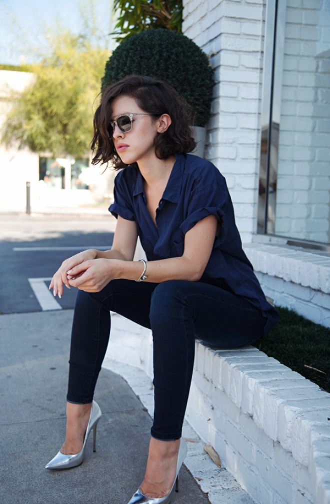 Denim, Perfected: Karla of Karla's Closet Knows How To Nail A Skinny Jean. | Blog | The Fix