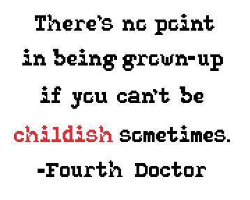 Doctor Who Quote Series 1: Fourth Doctor Pattern PDF