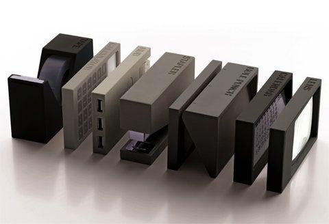 BURO Desk Tools by Adrian Wright & Jeremy Wright for Lexon » Yanko Design