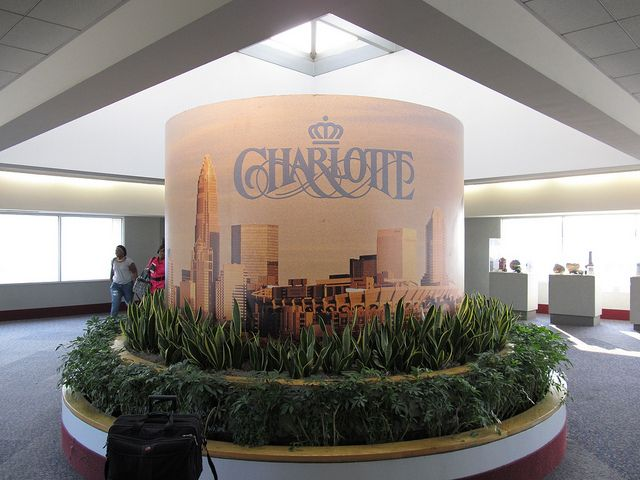 charolette north carolina airport | ... , Charlotte/Douglas International Airport, Charlotte, North Carolina
